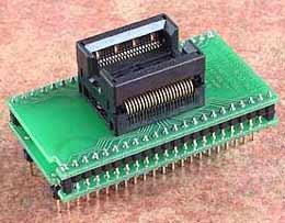 Универсальный адаптер-переходник Conv DIL44/TSOP44-II Z 400