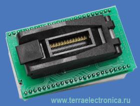 Cпециализированный адаптер для программирования микросхем Flash EPROM м в корпусе SSOP56