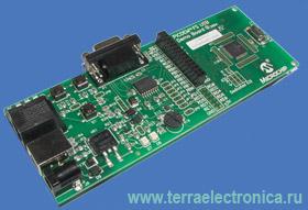 DM163025 � ������������������� ���������������-���������� ����� PICDEM� FS-USB