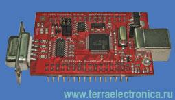 EA-QSB-010 – отладочная плата серии Quick Start для микроконтроллеров LPC2148