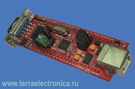 EA-QSB-011 – отладочная плата серии Quick Start для микроконтроллеров LPC2103 с интерфейсом USB