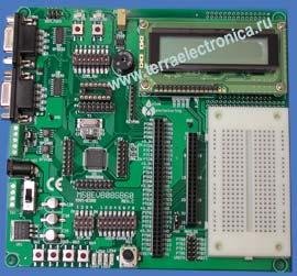 Макетная плата M68EVM908GB60 для микроконтроллеров семейства 9S08 от FREESCALE