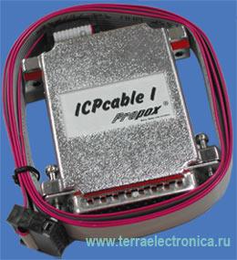 ICP-CABLE-1 – внутрисхемный программатор для микроконтроллеров ST7Flite производства STMicroelectronics