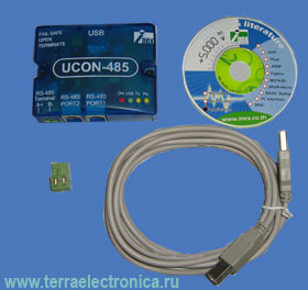 IE-UCON-485 � ���������� ������� USB-RS-485 �� Innovative Experiment