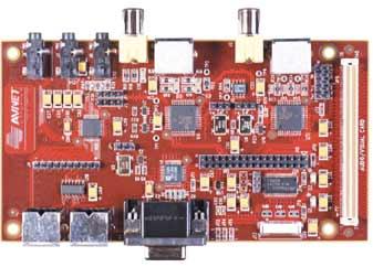 Аудио-видео модуль расширения для отладочных плат ADS-AV-DAU