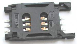 Держатель SIM-карты KSI-0641
