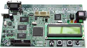 Отладочная плата с Ethernet контроллером LPC-E2214