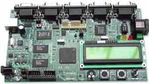 Отладочная плата на базе микроконтроллера LPC2294
