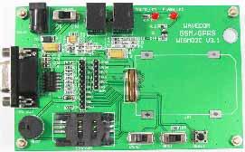 Демонстрационная плата Q24xx STK для оценки работы GSM/GPRS модемов WISMO2C