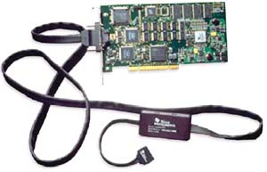 Эмулятор  XDS560 c включенными JTAG и PCI интерфейсами