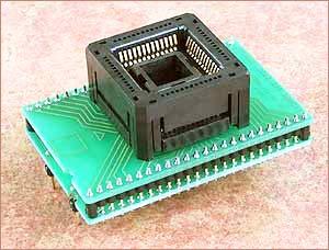 Специализированный адаптер DIL 48/PLCC52 ZIF 68HC11