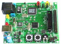 Отладочная плата с TCP/IP стеком LPC-E2124