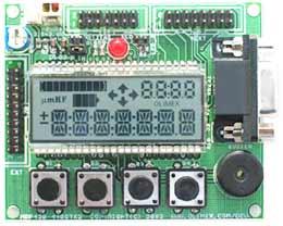 Отладочная плата с многофункциональным ЖКИ MSP430-449STK2