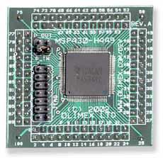 Макетная плата MSP430-H449