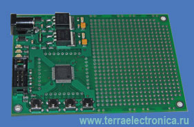 LDM-PP 1.7064  - конструкторы-ПЛИС - представляют собою печатную плату