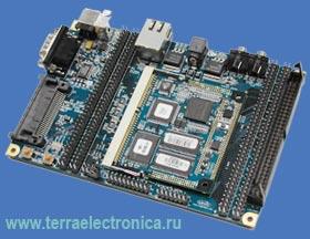 LH79524 SDK – недорогой набор разработчика встраиваемых систем на базе мощного ARM контроллера LH79524 компании SHARP