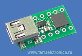 LITTLEUSB – универсальный адаптер интерфейсов для подключения микроконтроллеров, ПЛИС и т.д. к шине USB