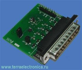 LM70EVAL-LLP – макетная плата на базе датчика температуры LM70LLP производства NATIONAL SEMICONDUCTOR