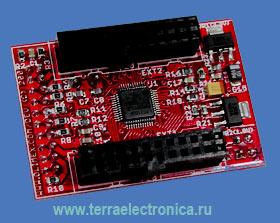 LPC-H2103 - макетная плата в формфакторе DIL40 фирмы OLIMEX для микроконтроллера LPC2103 ARM7TDMI-S.