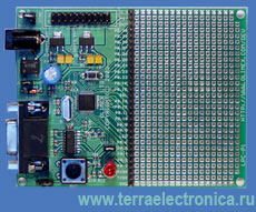 LPC-P2106 – плата для разработки на базе микроконтроллера LPC2106