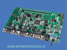 M5213EVB – макетная плата для микроконтроллеров семейства ColdFire MCF521x