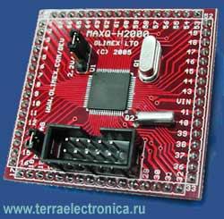 Макетная плата MAXQ-H2000 для знакомства с микроконтроллером MAXQ2000-RAX