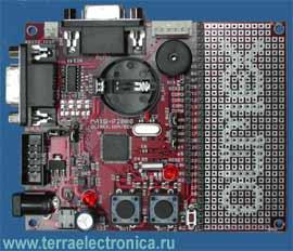Макетная плата MAXQ-P2000 для знакомства с микроконтроллерами MAXQ2000-RAX