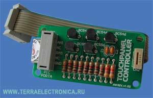 ME-TOUCHPANELCONTROLLER BOARD – плата контроллера сенсорного экрана компании mikroElektronika