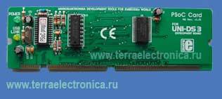 ME-UNI-DS3 48 PIN PSOC CARD – плата специализации для лабораторного стенда ME-UNI-DS3  от компании mikroElektronika.