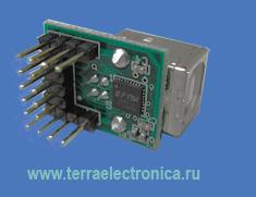 MM232R – миниатюрный модуль организации моста от традиционного интерфейса UART к USB на базе микросхемы FT232RQ