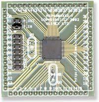 Макетная плата с микроконтроллером MSP430FE427