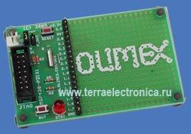 MSP430-P2131 - макетная плата на базе микроконтроллера  MPS430F2131