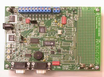 Оценочный модуль MSC1210EVM