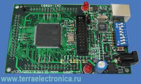OKI-H5003 -  макетная плата фирмы OLIMEX