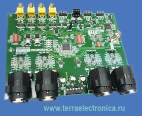 PCM4204EVM – оценочный модуль для микросхемы PCM4204 производства TEXAS INSTRUMENTS