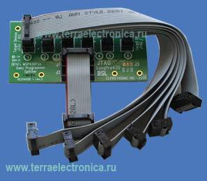 PE014X02 – cплиттер с кабелями на 6 каналов для программатора GANG фирмы ELPROTRONIC.