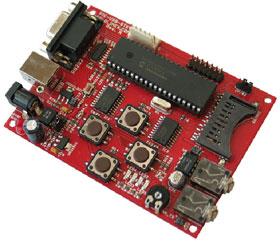 PIC-USB-STK - удобная отладочная плата на базе популярного PIC микроконтроллера с USB интерфейсом PIC18F4550