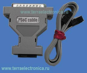 PSOC-CABLE I � ��������� ISSP ������������ ��� ����������������� PSoC ����� Sypress