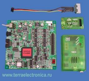 Эмулятор 8-разрядных микроконтроллеров с малым количеством выводов серии 78K0S