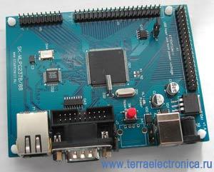 SK-MLPC2378 – отладочная плата на базе ARM7-микроконтроллера LPC2378 фирмы NXP