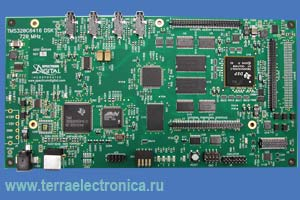 Отладочный комплект на базе  TMS320C6416, работающий на частоте 1 ГГЦ
