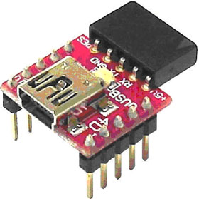 uUSB-MB5 – миниатюрный адаптер USB-UART