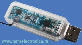 USBFMRADIO-RD - ��������� ��������� ����� ��� ���������� � ������� �������������� FM-���������