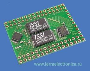 Высокоинтегрированный модуль расширения для стыковки с отладочной платой AVR–CRUMB128