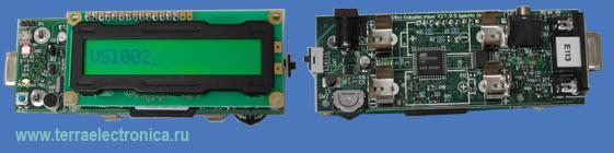 VS1002D-KIT-L – оценочный набор с установленным кодеком VS1002