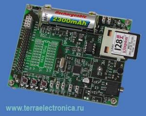VS1003B-PROTO – макетная плата с установленным кодеком VS1003 компании VLSI