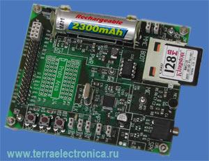 VS1011E-PROTO – макетная плата с установленным кодеком VS1011 компании VLSI