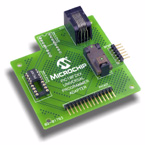 Демоплата  The PIC10F2XX Universal Programmer Adapter provides PIC10F socket support for both the SOT-23 and DIP-8 packages. It allows interfacing to Microchip's low cost family of programmers inclusive of; PICkit1, ICD2, PICstart, and the BFMP