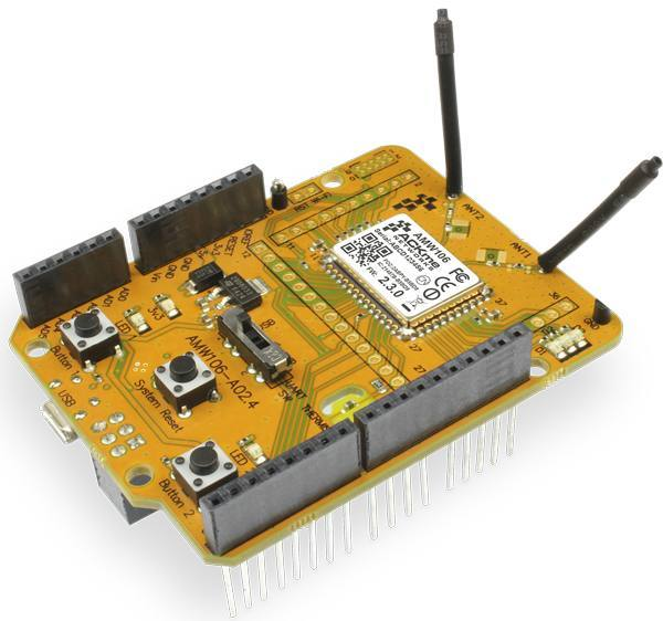 Демоплата  MANTIS Wi-Fi expansion board for STM32 Nucleo-64 and -144