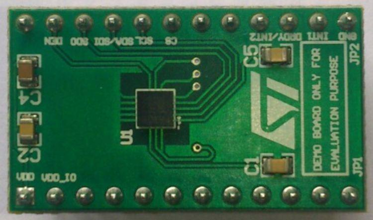 Демоплата  L3GD20H adapter board for standard DIL 24 socket